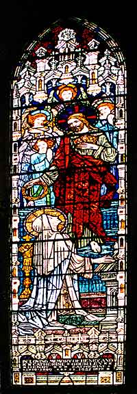 Stained glass window entitled
